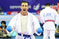 کاراته قهرمانی جهان ؛ امیرمهدیزاده به مدال برنز دست يافت