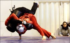 جام جهانی ووشو - اندونزی؛ سهیلا منصوریان نماینده میزبان را ناک اوت کرد/ نماینده کره دومین حریف ووشوکار ایران