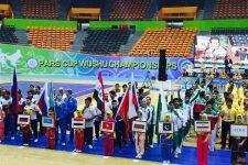 ووشو بین المللی جام پارس - تهران؛ مراسم افتتاحیه با حضور وزیر ورزش و جوانان برگزار شد