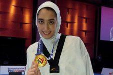 «کیمیا علیزاده» جزو تماشاییترین ورزشکاران در المپیک