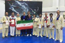 پایان کار ووشوكاران ايران در روسيه با کسب ۱۹ مدال