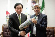 دیدار رئیس فدراسیون جهانی بوکس با رئیس و دبیر کل کمیته المپیک