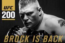 بازگشت براک لِزنر به یو اف سی در UFC 200
