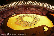 گزارش تصویری/ افتتاحیه سی و یکمین دوره بازیهای المپیک