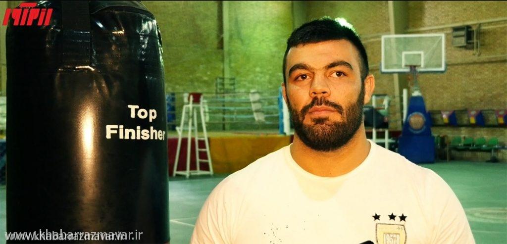 علی اکبری: محجوب را برای حضور در MMA تشویق کردم