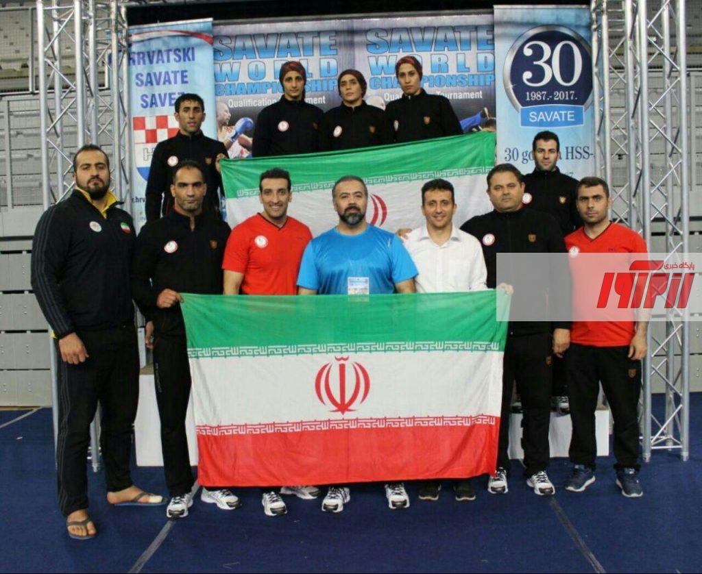شش مدال رنگارنگ، دستاورد کاروان هفت نفره ورزشکاران