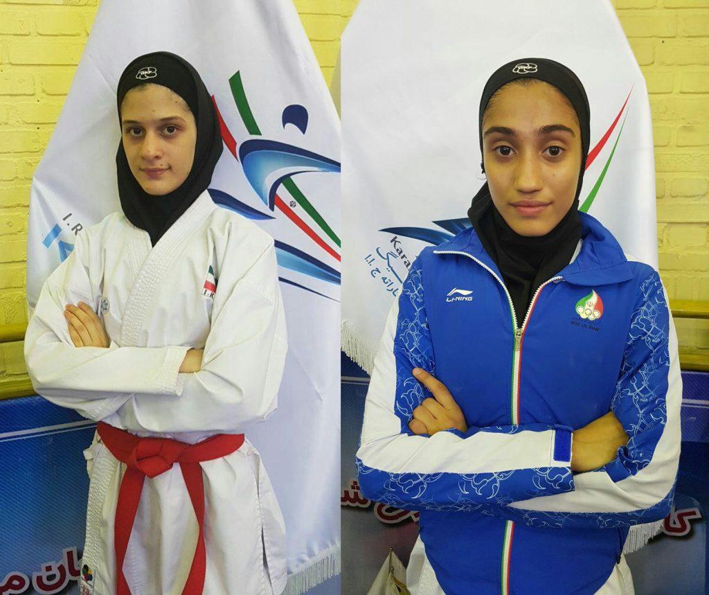 معرفی نفرات برتر راه یافته به اردوی تیم ملی جوانان و  امید کاراته