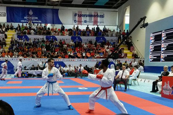 تیم ملی کاراته مردان و زنان ایران راهی فرانسه شد