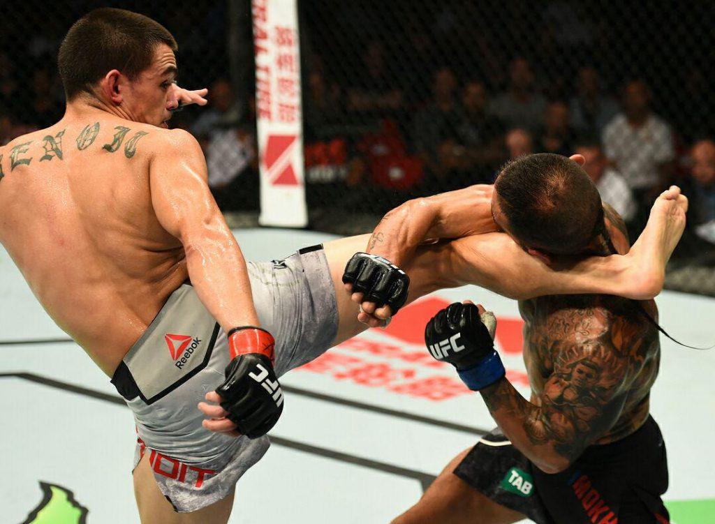 ناکامی اشکان این بار در UFC سیدنی