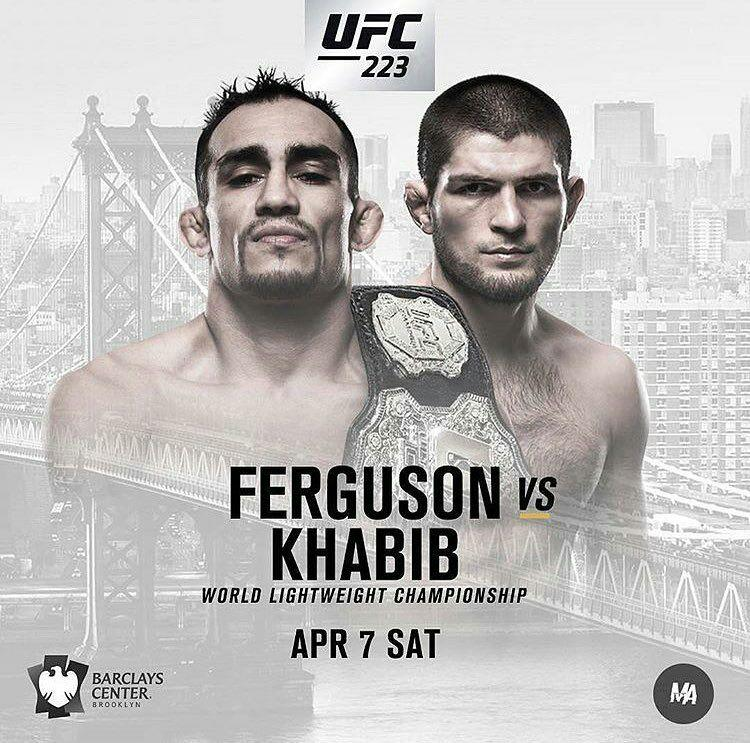 "مصاف ""اِل کوکوی"" و ""عقاب"" در UFC 223"
