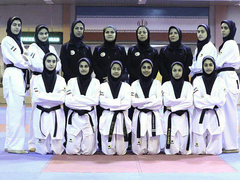 ترکیب تیم ملی تکواندو نوجوانان دختر مشخص شد