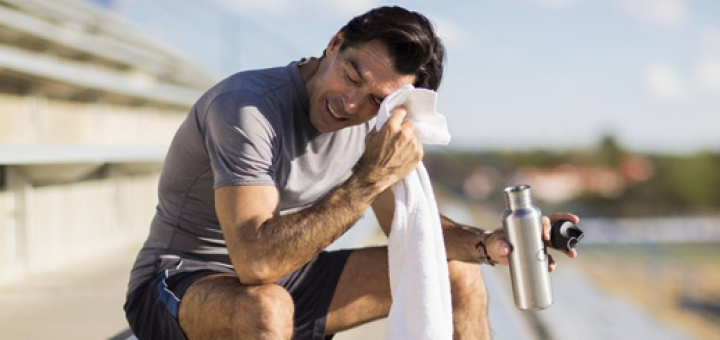 فواید عرق کردن هنگام ورزش