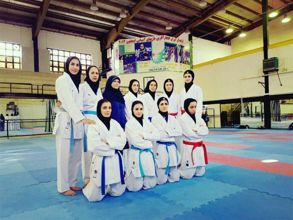 چهار نماینده کاراته بانوان در بازیهای آسیایی جاکارتا معرفی شدند