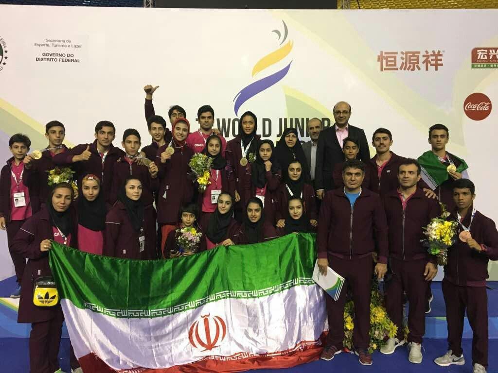 جوانان ووشوکار ایران برای نخستین بار قهرمان جهان شدند