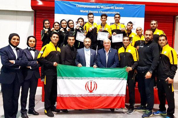 ساواته ایران به چهار نشان نقره و برنز دست یافت