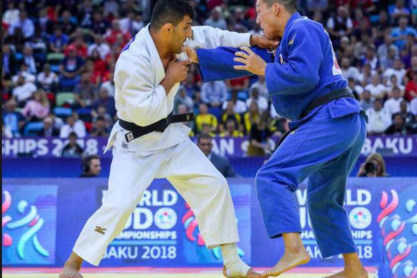 سعید ملایی با پرچم فدراسیون جهانی در مسابقات ژاپن شرکت می کند