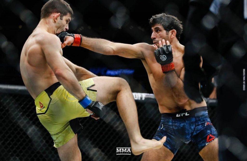 شکست زامبی کره ای در UFC Fight Night 139!