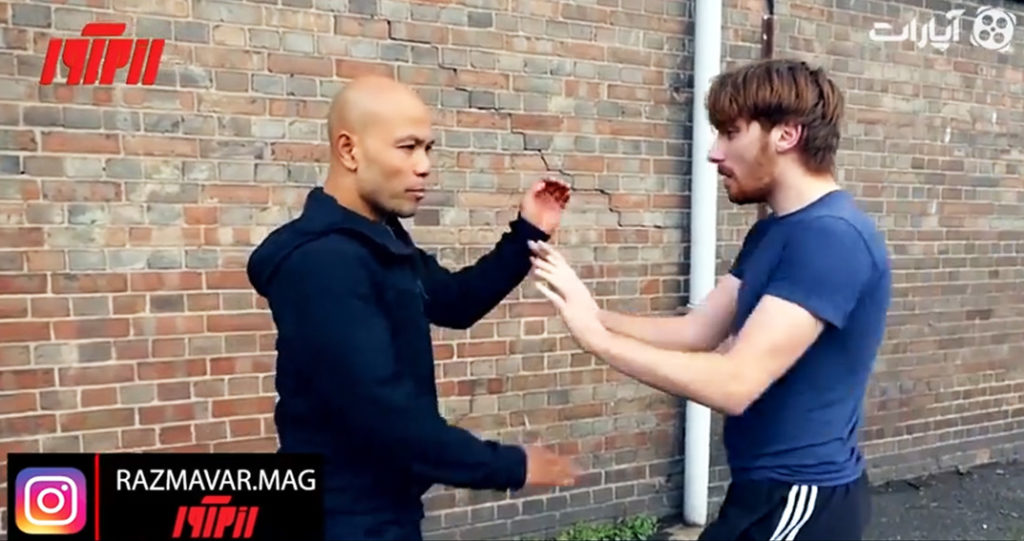 آموزش دفاع شخصی در درگیری های خیابانی