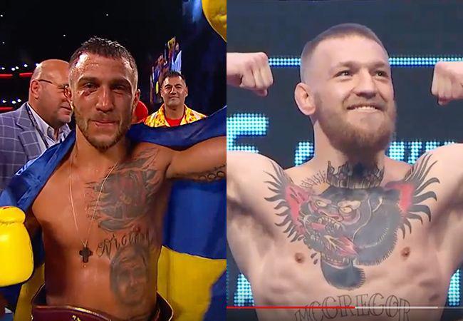 طعنه قهرمان بوکس به ستاره UFC