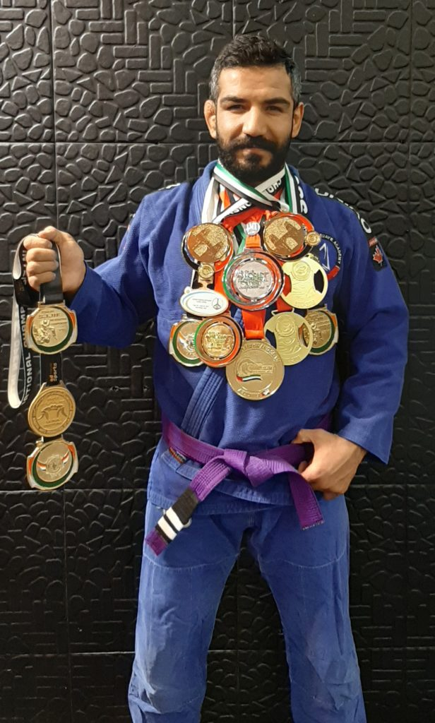 پرافتخارترین ورزشکار جوجیتسو برزیلی ایران با کلکسیونی از مدال طلا در رزم آور
