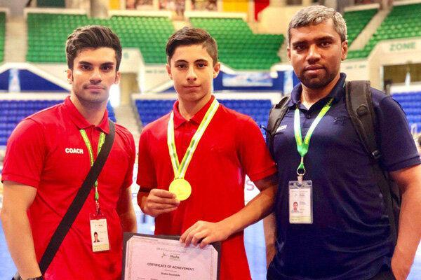 کسب یک مدال و نقره دیگر برای ووشو ایران