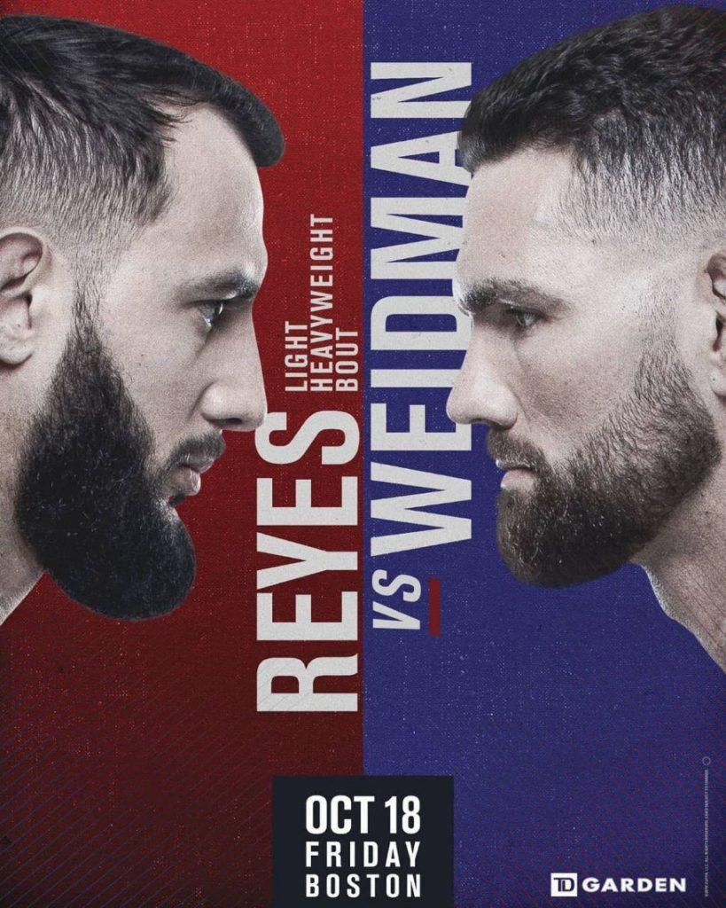 """زور آزمایی """"ویرانگر"""" و """"تمام آمریکایی"""" در UFC بوستون"""