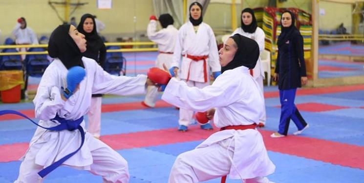 اردوی بانوان کاراته کا از امروز کلید خورد