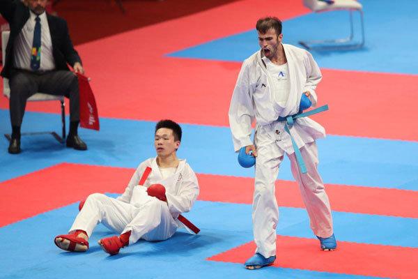 قهرمانی عسگری و عباسعلی در لیگ جهانی کاراته/ سومی ایران با ۲ طلا و یک برنز
