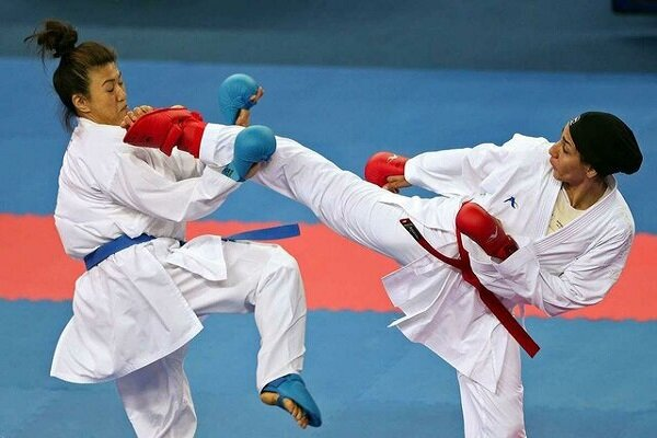پایان مرحله دوم اردوی تیم ملی کاراته بانوان