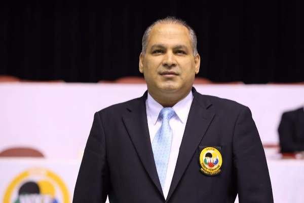جواد سلیمی عضو شورای داوران کاراته آسیا باقی ماند