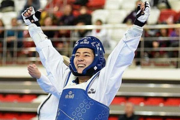 مبارزه دختر ایرانی با هوگوی تیم ملی فلسطین