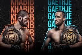 پخش زنده رویداد UFC 254