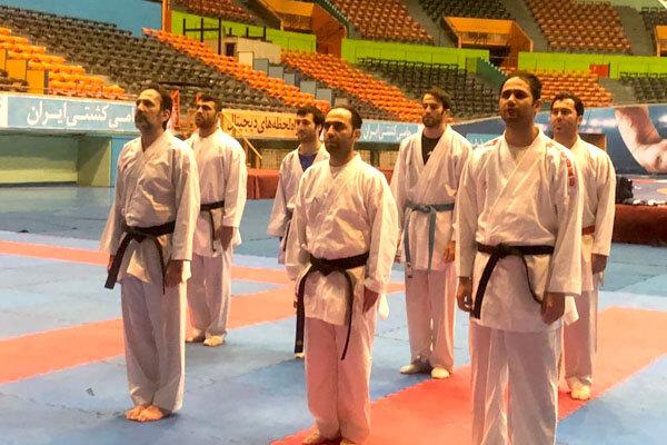 ملیپوشان کاراته در کیش اردو میزنند