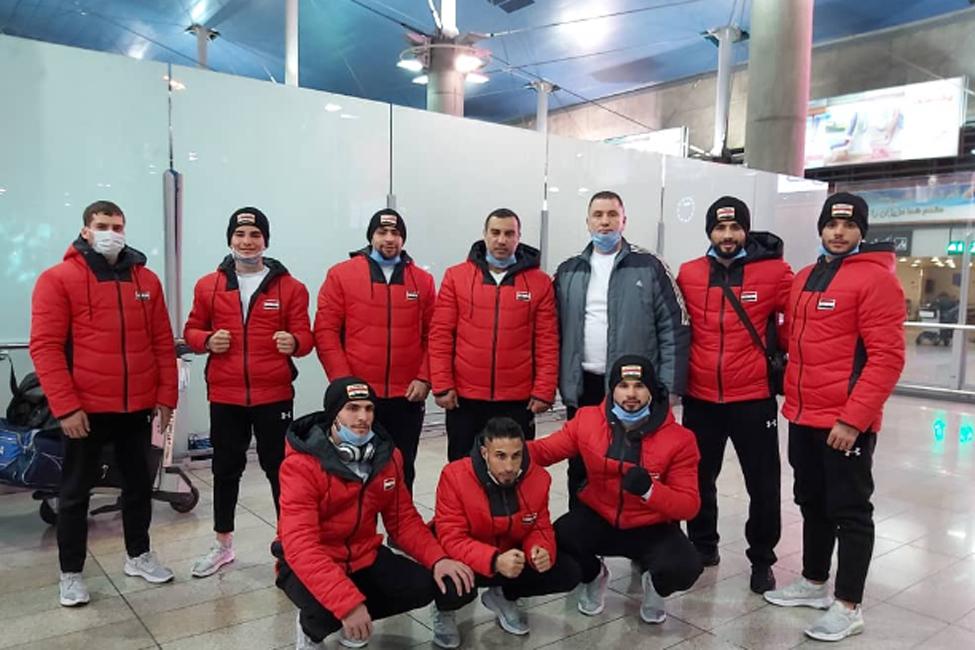 حضور بوکسورهای ملی پوش سوریه در ایران