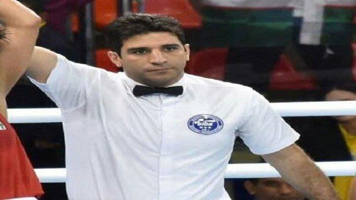 قضاوت داور ایرانی در رقابت های قهرمانی بوکس آسیا
