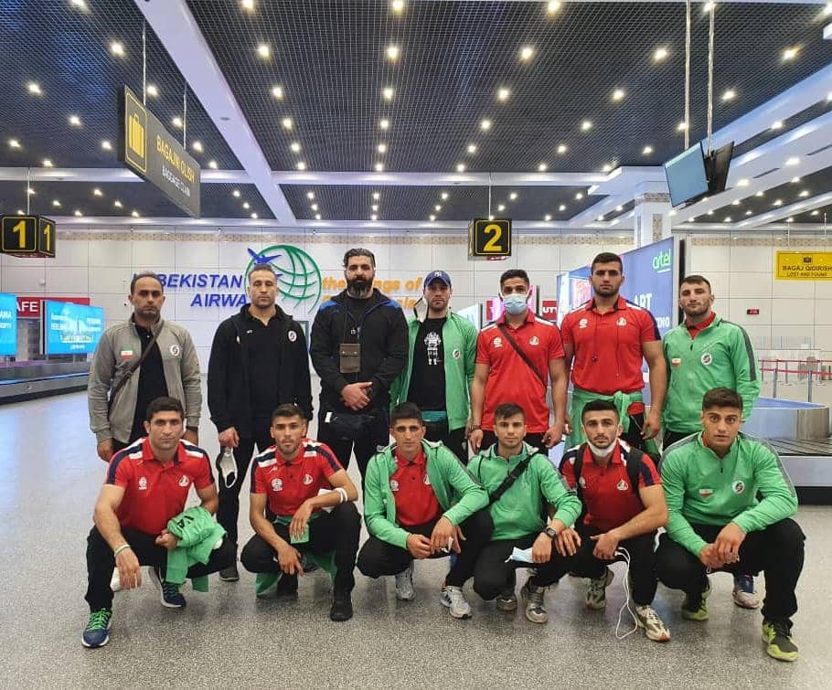 تیم ملی بوکس به ازبکستان رسید