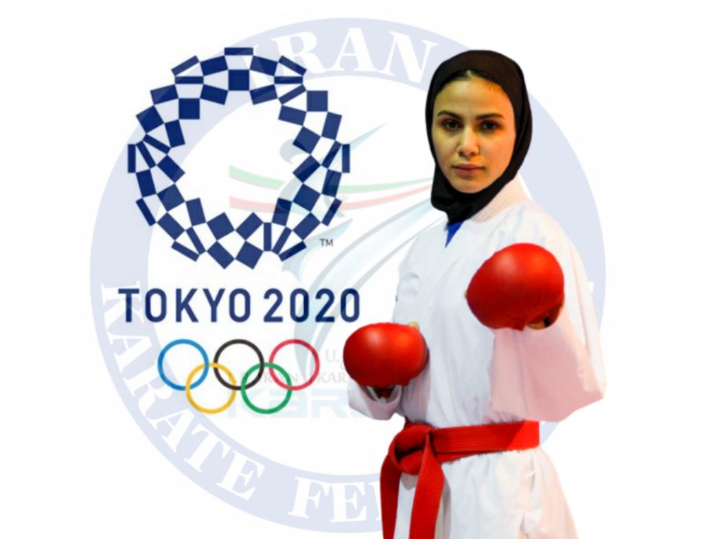 بهمنیار، سومین المپیکی کاراته ایران